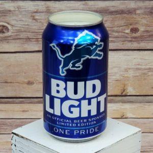 Detroit Lions Candle