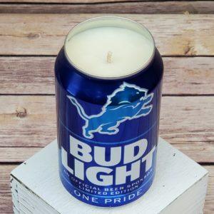 Detroit Lions Soy Candle