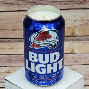 Colorado Avalanche Candle
