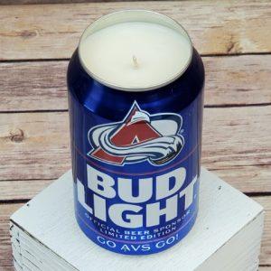 Colorado Avalanche Candle