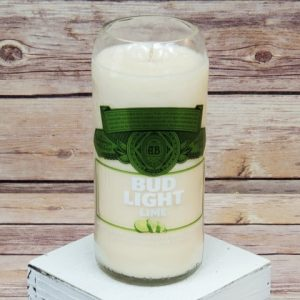 Bud Light Lime Candle