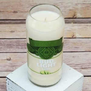 Bud Light Lime Soy Candle