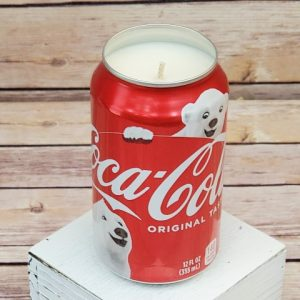 Christmas Coke Candle