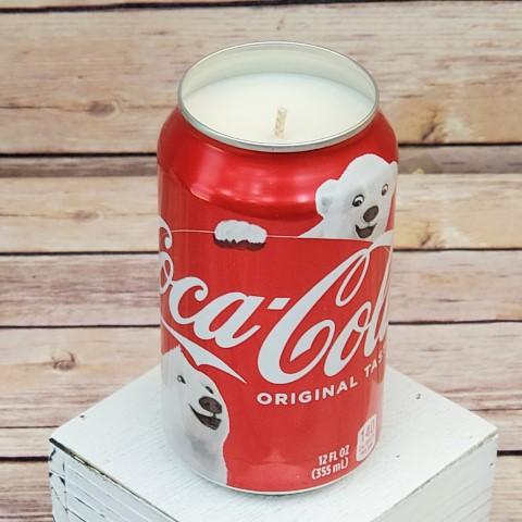 Christmas Coke Candle