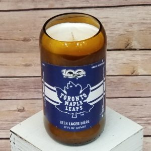 Maple Leafs Candle