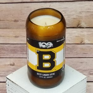 Boston Bruins Candle