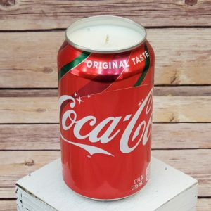 Coke Christmas Candle