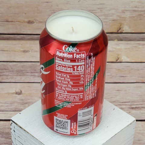 Coke Can Soy Candle