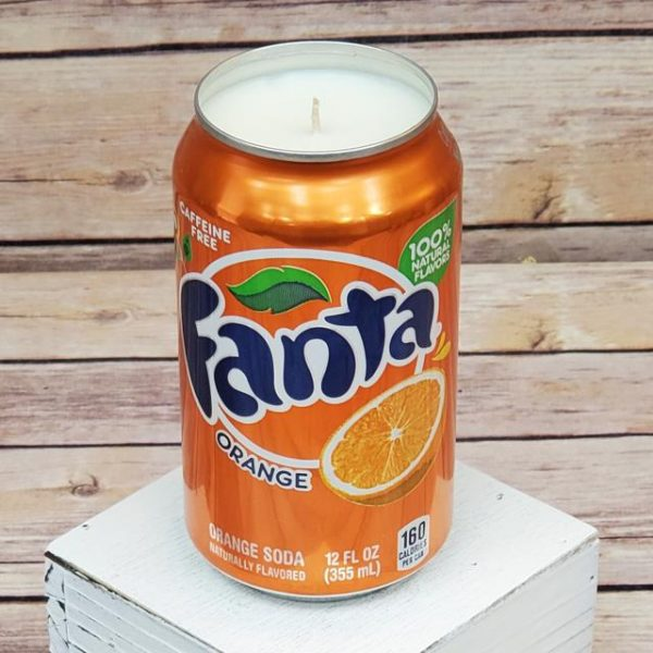Fanta Orange Soda Soy Candle