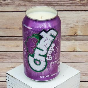 Grape Crush Soda Soy Candle
