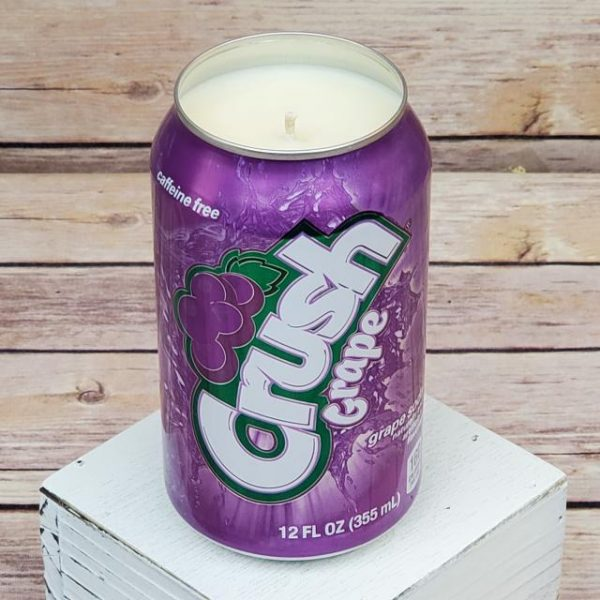 Grape Crush Soy Candle